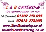 I & B Catering, Caterers Dumfries & Galloway, Scotland